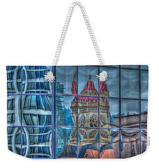 Distorted Portland Weekender Tote Bag