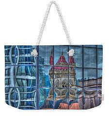 Distorted Portland Weekender Tote Bag