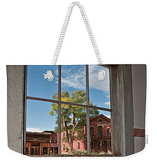 Through The Wavy Glass Weekender Tote Bag