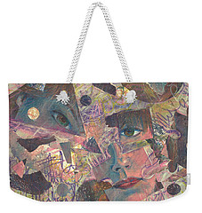 Distraction A Self Portrait Weekender Tote Bag by Melinda Dare Benfield