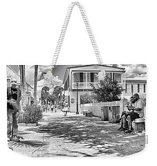 Weekender Tote Bag featuring the photograph Distraction by Howard Salmon