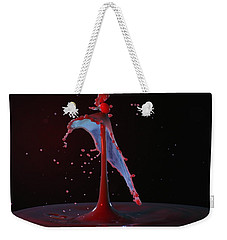 Weekender Tote Bag featuring the photograph Distressed by Kevin Desrosiers