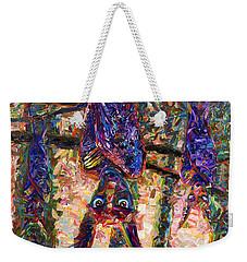 Disturbed Weekender Tote Bag by James W Johnson