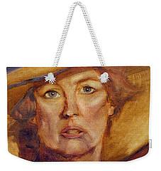 Diva Still Weekender Tote Bag