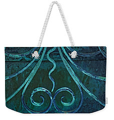 Weekender Tote Bag featuring the photograph Divided  by Rowana Ray