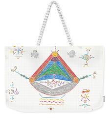 Divine Balance Weekender Tote Bag