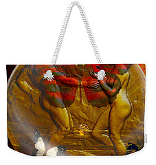 Divine Weekender Tote Bag by Joseph Mosley