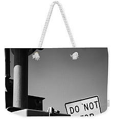 Do Not Stop Dancing On Tracks Weekender Tote Bag by Jason Politte
