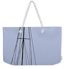 Weekender Tote Bag featuring the photograph Docked At Bay by Lilliana Mendez