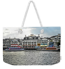 Docking At The Boardwalk Walt Disney World Weekender Tote Bag
