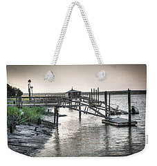 Docks Of The Bull River Weekender Tote Bag