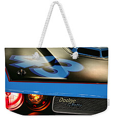 Weekender Tote Bag featuring the photograph Dodge By Petty by Gordon Dean II