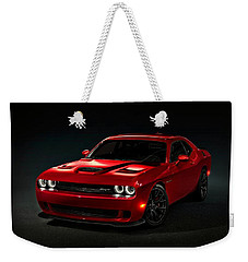 Dodge Challenger S R T Hellcat Weekender Tote Bag by Movie Poster Prints