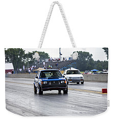 Dodge Omni Glh Vs Rwd Dodge Shadow - Without Times Weekender Tote Bag