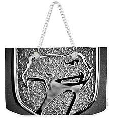 Dodge Viper Emblem -217bw Weekender Tote Bag by Jill Reger