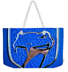 Dodge Viper Emblem -217c Weekender Tote Bag by Jill Reger