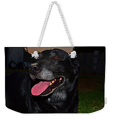Weekender Tote Bag featuring the photograph Puffed Out 1 by Naomi Burgess