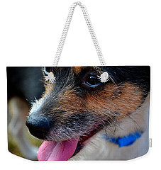 Weekender Tote Bag featuring the photograph Puffed Out 2 by Naomi Burgess