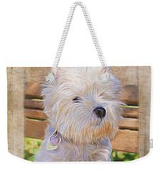 Dog Art - Just One Look Weekender Tote Bag