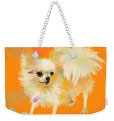 Dog Chihuahua Orange Weekender Tote Bag