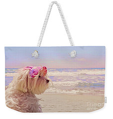 Dog Days Of Summer Weekender Tote Bag by Andrea Auletta
