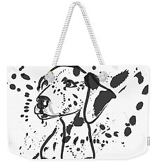 Dog Spot Weekender Tote Bag by Go Van Kampen