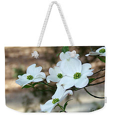 Weekender Tote Bag featuring the photograph Dogwood 2 by Andrea Anderegg