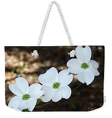 Weekender Tote Bag featuring the photograph Dogwood by Andrea Anderegg
