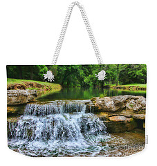 Dogwood Canyon Falls Weekender Tote Bag