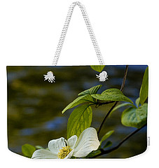 Dogwood On The Merced Weekender Tote Bag by Bill Gallagher