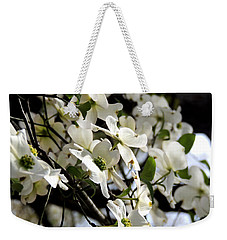 Dogwoods In The Spring Weekender Tote Bag by Kim Pate