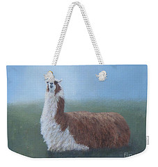 Dolly Llama Weekender Tote Bag