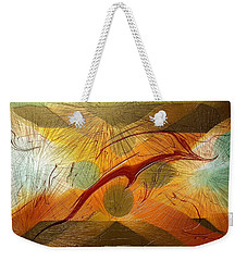 Dolphin Abstract - 2 Weekender Tote Bag