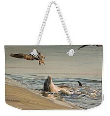 Dolphin Joy Weekender Tote Bag