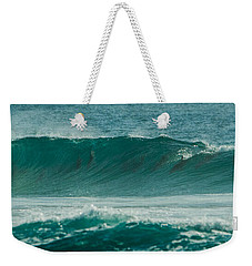 Dolphins In Wave 10 Weekender Tote Bag