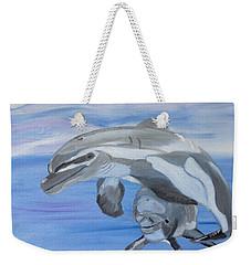 Sublime Dolphins Weekender Tote Bag