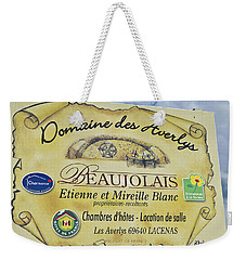 Domaine Des Averlys Weekender Tote Bag