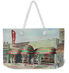 Domenicos In Long Beach Weekender Tote Bag