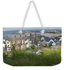 Weekender Tote Bag featuring the photograph Donaghadee Northern Ireland View From The Moat by Brenda Brown