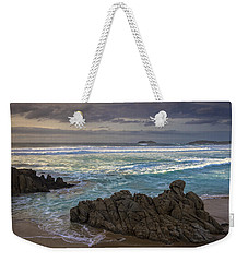Weekender Tote Bag featuring the photograph Doninos Beach Ferrol Galicia Spain by Pablo Avanzini