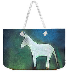 Donkey, 2011 Oil On Canvas Weekender Tote Bag