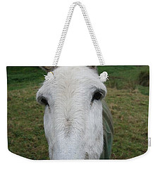 Weekender Tote Bag featuring the photograph Donkey by Jocelyn Friis