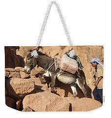 Donkey Of Mt. Sinai Weekender Tote Bag