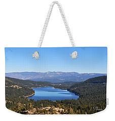 Donner Lake Weekender Tote Bag