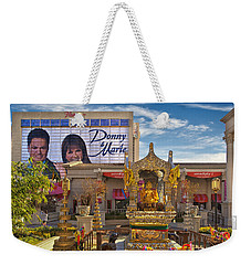 Donny Marie Buddha Weekender Tote Bag