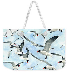 Don't Feed The Seagulls Weekender Tote Bag