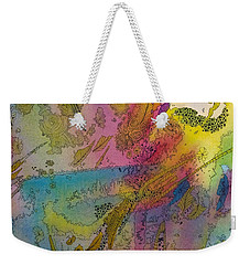 Doodle With Color Weekender Tote Bag