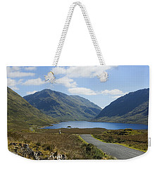 Weekender Tote Bag featuring the photograph Doolough Pass County Mayo Ireland by Jane McIlroy