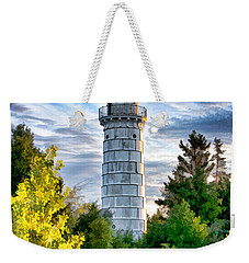 Door County Cana Island Beacon Weekender Tote Bag