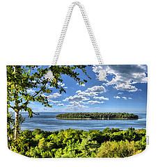 Door County Horseshoe Island Weekender Tote Bag
